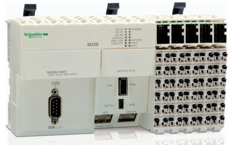 施耐德Modicon TM258系列PLC TM258