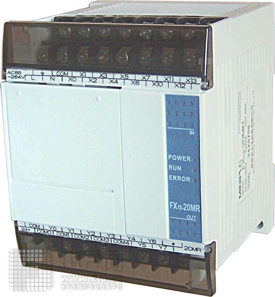 三菱PLC FX1S-30MR001-D可编程逻辑