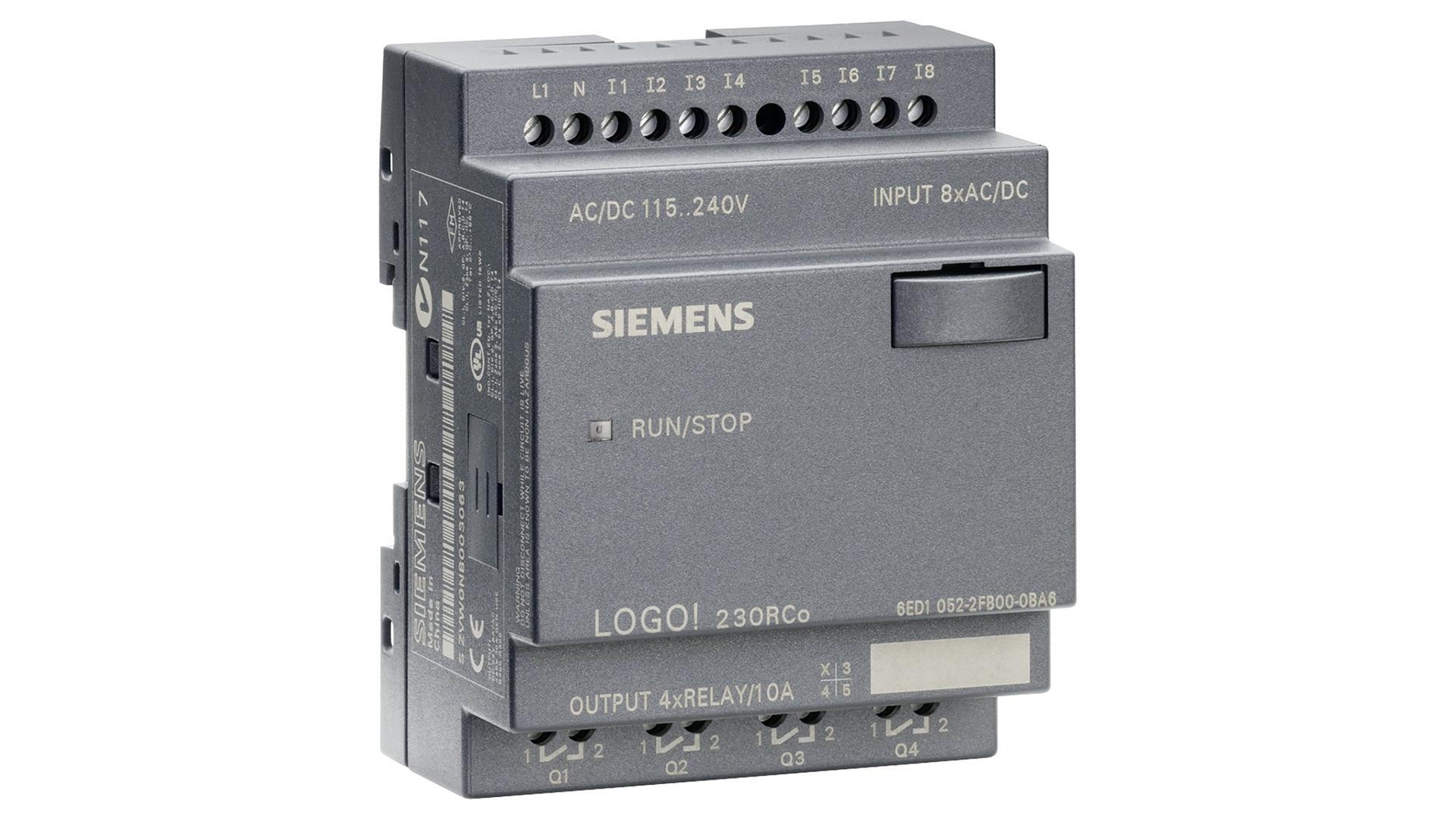 西门子PLC LOGO系列CPU中央处理器6ED10522FB000BA8