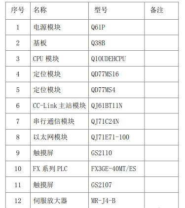 三菱plc与触摸屏通迅,plc控制系统